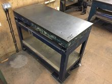 Cast Iron Surface Table 49 x 25