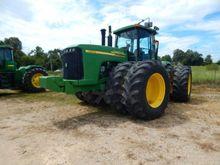 2002 John Deere 9520 Farm Tract