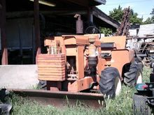 Trencher : 1970 Ditch Witch R60