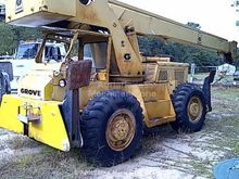 1975 Grove RT58 Mobile Cranes /