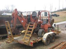 Trencher : 1987 Ditch Witch 401