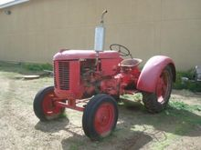 1951 Case VAO Antique tractor