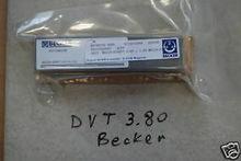 Vanes fit Becker DVT 3.80 Vacuu