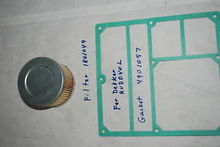 Filter and gasket for Dekker RV