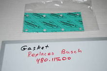 Gasket Replaces Busch 480.115.0