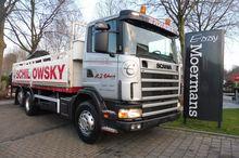 2001 Scania R94 230 6x2-4 Crane