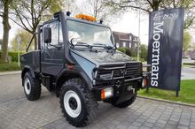 1997 Mercedes Unimog U 90 Turbo