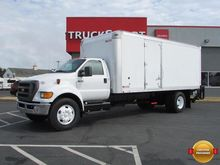 2012 Ford F650 20 ft Box Truck