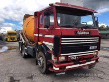 1990 Scania R143H Mixer 6x2
