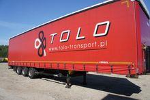 2012 Kogel semi-trailer