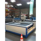 Used water jet cutting table