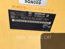 2009 CATERPILLAR CS433E