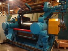 "60"" Two Roll Mill with Stock Bl"