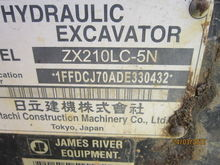 2014 Hitachi 210LC-5