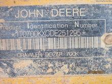2013 John Deere 700K