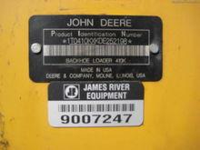 2014 John Deere 410K