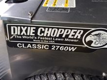 2013 Dixie Chopper cl2760