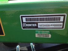 2014 Frontier DH5310