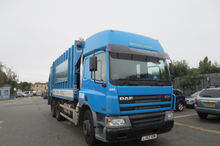 Late 2003 DAF 75.250 6x4 with G