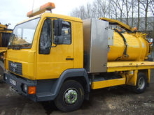 2002 MAN 8145 7.5ton medium Vol