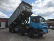 2011 Scania P360 8x4 Tipper