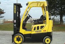 2005 HYSTER S55FTS