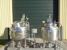 TANK-JACKETED, 240 USG, STAINLE