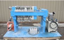 FILTER PRESS, RECESSED PLATE, 4