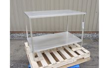 STAINLESS STEEL TABLE, 26'' X 4