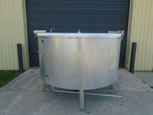 TANK-JACKETED, 720 USG, STAINLE