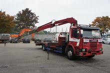 1996 Scania 93-220 Oprijwagen +