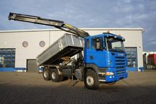 Scania R420 kipper