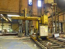 Esab welding crane for composit