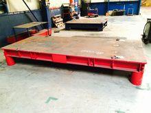 Welding table 3620 x 1560 mm Ta