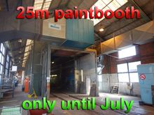 Wanson painting booth 25 meter