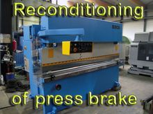 Reconditioning Press brakes Hyd