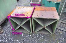 Clamping bloc 730 x 720 mm Cubi