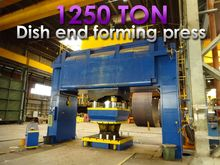 Boldrini 1250 ton Flanging pres