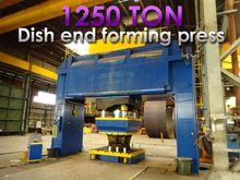 Boldrini 1250 ton H-frame press