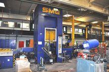 SMG 200 Ton CNC H-frame drawing