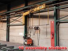 Jib crane 1 ton + welding unit