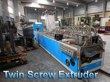 Polytech Twin screw extruder PV