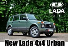 NEW Lada 4x4 Urban Vehicles (li