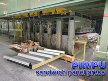 PIR/PU 600 ton sandwich panelpr