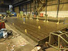 Tslot tables  - 14000 x 6000 mm