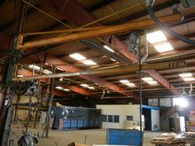Demag jib crane 250 kg Conveyor