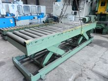 Roller conveyor/scissorlift 340