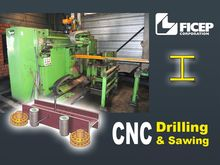 Used Ficep CNC drill