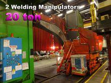 2x Diesse welding manipulators