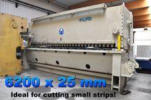 LVD OTS 6200 x 25 mm CNC Hydrau